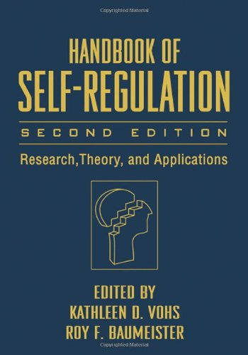 9781606239483: Handbook of Self-Regulation, Second Edition: Research, Theory, and Applications