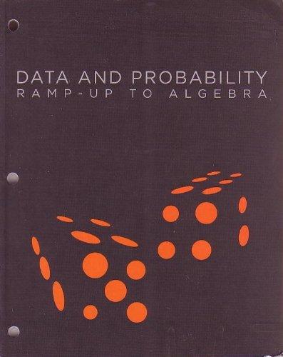 9781606377185: RAMP-UP TO ALGEBRA: DATA AND PROBABILITY