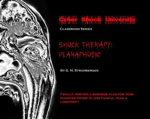 9781606431955: Shock Therapy: Planaphobic (At Last! Writing a Business Plan for Your Haunted House or Halloween Eve