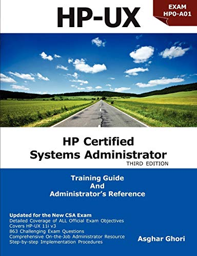 HP Certified Systems Administrator - 11i V3,: Ghori, Asghar