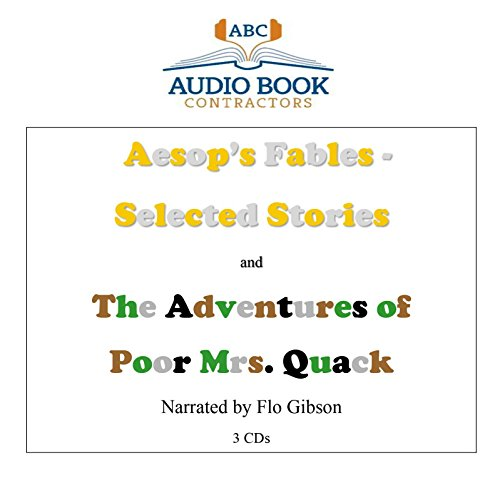 Aesop's Fables - Selected Stories and The Adventures of Poor Mrs. Quack (Classic Books on CD ...