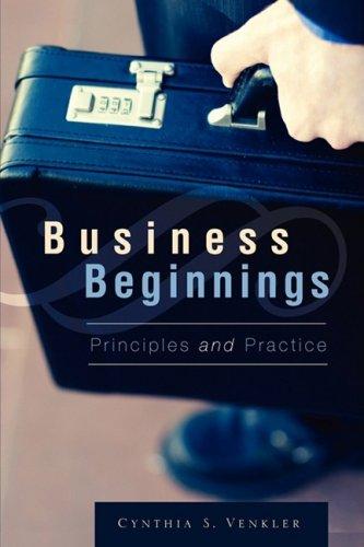 9781606475928: Business Beginnings