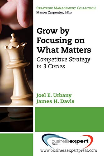 9781606490921: Grow by Focusing on What Matters: Competitive Strategy in 3-circles (Strategic Management Collection)