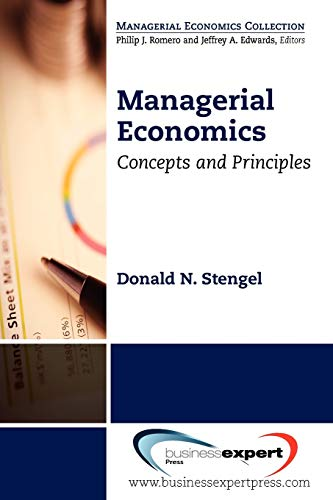 Managerial Economics: Concepts and Principles