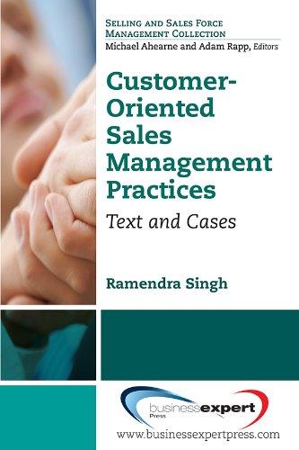 9781606492888: Customer-Oriented Sales Management Practices