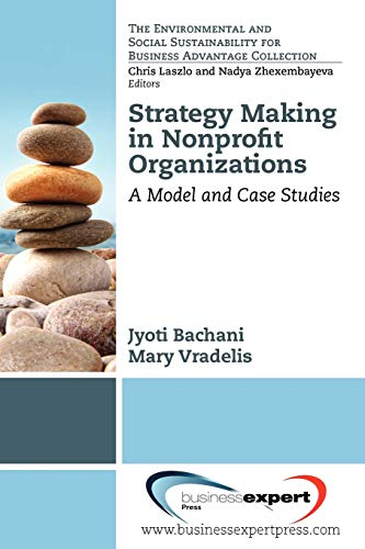 9781606493854: Strategy Making in Nonprofit Organizations (Environmental and Social Sustainability for Business Advanta)