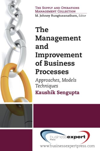 9781606494622: The Management and Improvement of Business Process (Supply Chain Management)