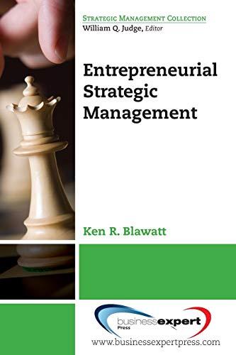 9781606498668: Entrepreneurial Strategic Management