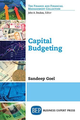 Capital Budgeting: Goel, Sandeep