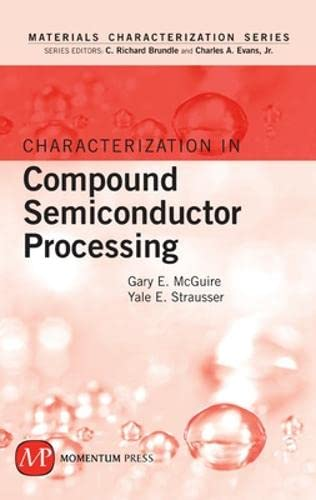 9781606500415: Characterization in Compound Semiconductor Processing (Materials Characterization)