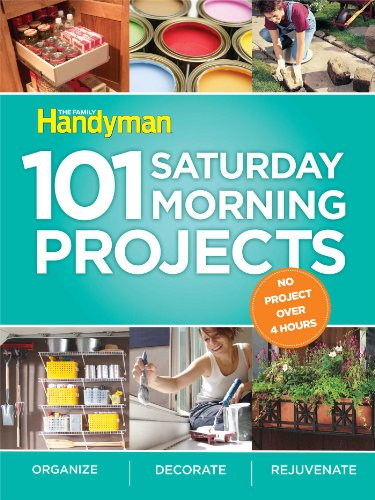 9781606520185: 101 Saturday Morning Projects: Organize, Decorate, Rejuvenate