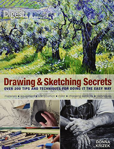 Drawing and Sketching Secrets : 200 Tips: Donna Krizek