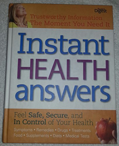 Instant Health Answers: Editors from Reader's