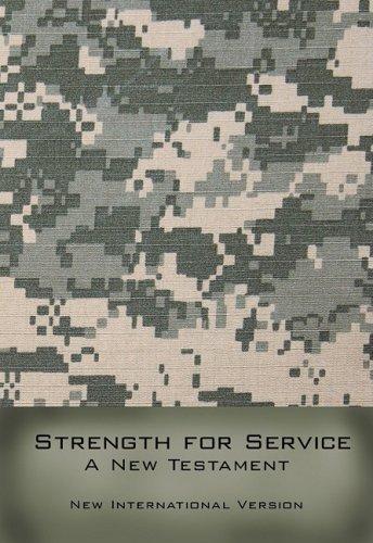 Strength For Service A New Testament-NIV: Biblica,