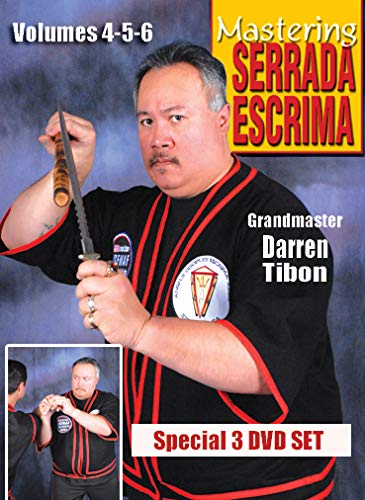 9781606610305: Mastering Serrada Escrima DVD Set Vol-4-5-6