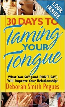 9781606712139: 30 Days to Taming Your Tongue