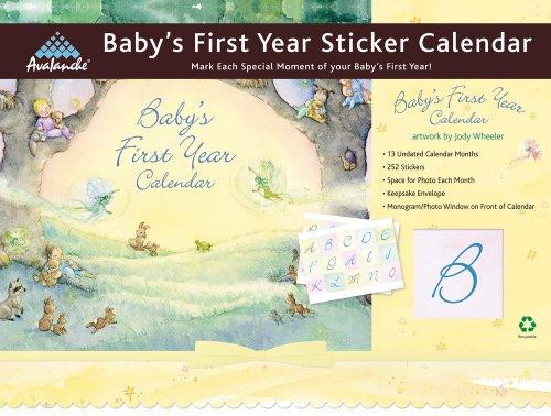 9781606775707: Baby's First Year Sticker Calendar (Classic)