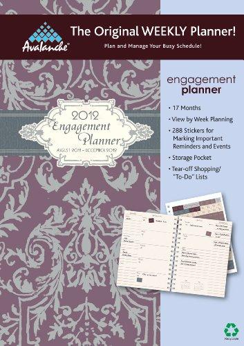 9781606777664: 2012 Mom's Home Engagement Planner calendar