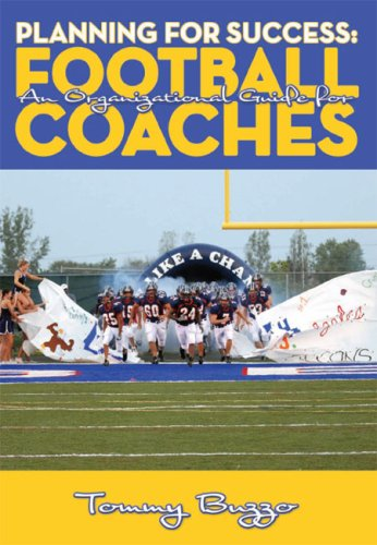 9781606790410: Planning for Success: An Organizational Guide for Football Coaches