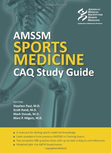 9781606792193: AMSSM Sports Medicine CAQ Study Guide