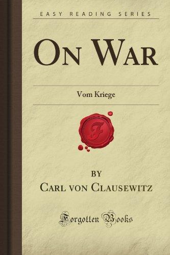 9781606800881: On War: Vom Kriege (Forgotten Books)