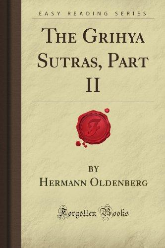 9781606802403: The Grihya Sutras, Part II (Forgotten Books)