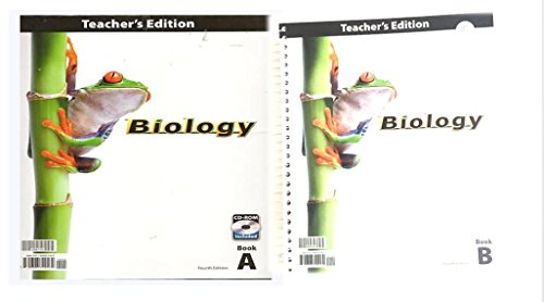 9781606820162: Biology Teacher Edition with CD Grade 10 4th Edition