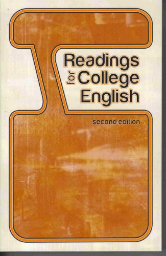 9781606820391: Readings for College English