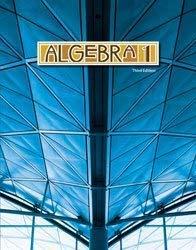 9781606820452: Algebra 1 Student Text (3rd ed.)