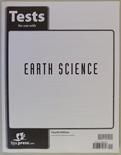 9781606820728: Earth Science Test Grade 8 4th Edition