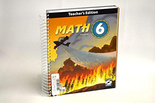 9781606821138: Math, Grade 6, Teacher's Edition (Book & CD)
