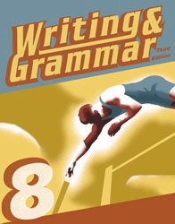 Writing and Grammar 8 Student Worktext Paperback: June W. Cates
