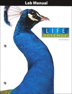 9781606822029: Life Science Student Activity Manual Grade 7 4th Edition