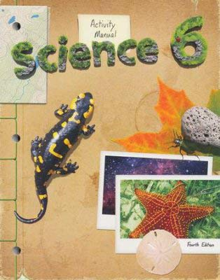 9781606822173: Science Student Activity Manual Grade 6 4th Edition