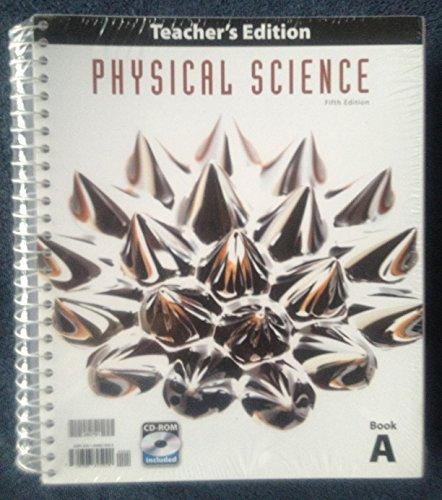 9781606825020: Physical Science Teacher Ed