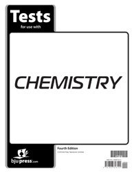 9781606826102: BJU - Chemistry Student Tests - 4th Ed - Bob Jones