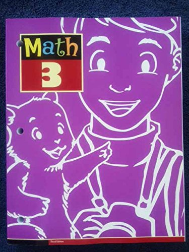9781606828137: Math 3 Student Text 3rd Edition: 3rd Grade