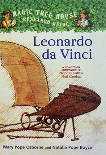 9781606864159: Leonardo Da Vinci: A Nonfiction Companion to Magic Tree House #38: Monday with a Mad Genius