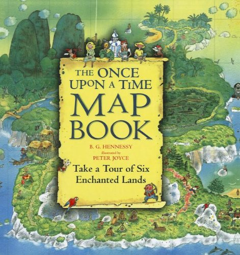 9781606866191: The Once Upon a Time Map Book: Take a Tour of Six Enchanted Lands