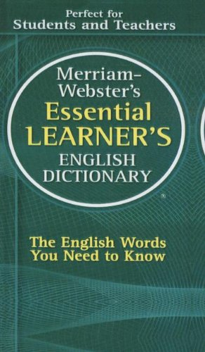 9781606867761: Merriam-Webster's Essential Learner's English Dictionary