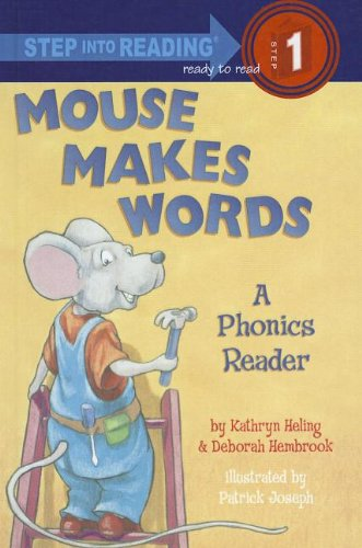 9781606868843: Mouse Makes Words: A Phonics Reader (Step Into Reading - Level 1 - Quality)