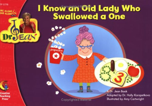 9781606891025: I Know an Old Lady Who Swallowed a One Lap Book Dr. Jean (5778)