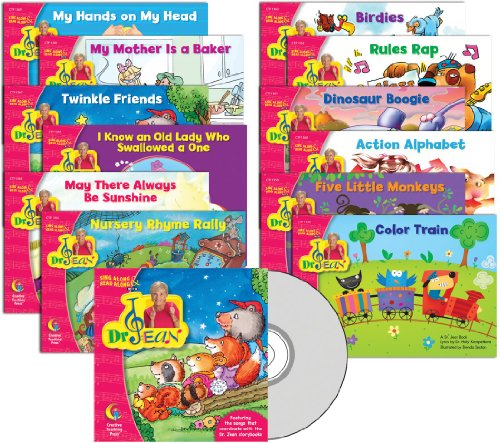 9781606898185: DR. JEAN LAP BOOK VARIETY PACK WITH CD