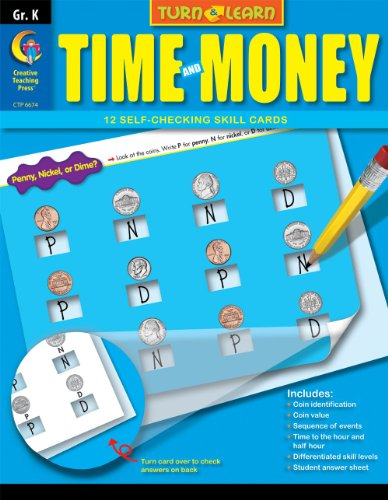9781606899748: Time and Money, Turn & Learn Gr. k
