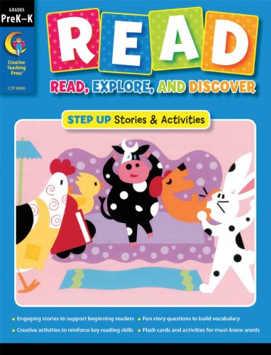9781606899809: R.E.A.D. Step Up Prek-K (R.E.A.D Workbook) (R.E.A.D.: Read, Explore, and Discover)