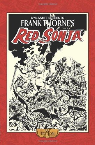 Frank Thorne's Red Sonja Art Edition Volume 2 HC: Noto, Clara