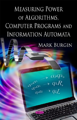 9781606923818: Measuring Power of Algorithms, Computer Programs and Information Automata