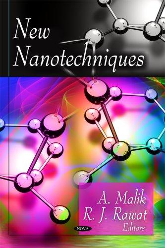 New Nanotechniques (Hardback): A. Malik, R.J. Rawat