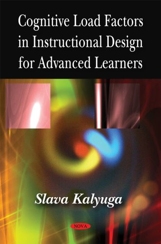 9781606925843: Cognitive Load Factors in Instructional Design for Advanced Learners
