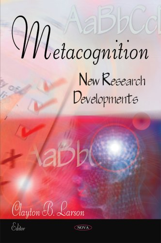 9781606927809: Metacognition: New Research Developments